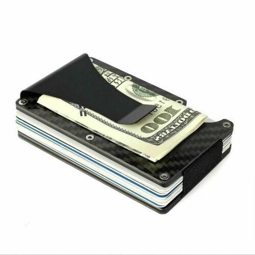 Men Pocket Credit Card Money Clip Slim