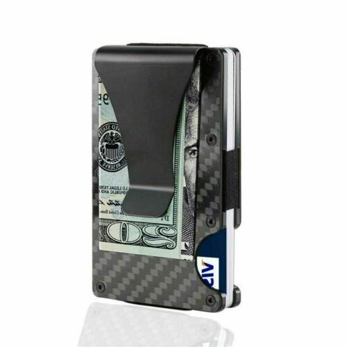 Men Holder Blocking Card Wallet USA