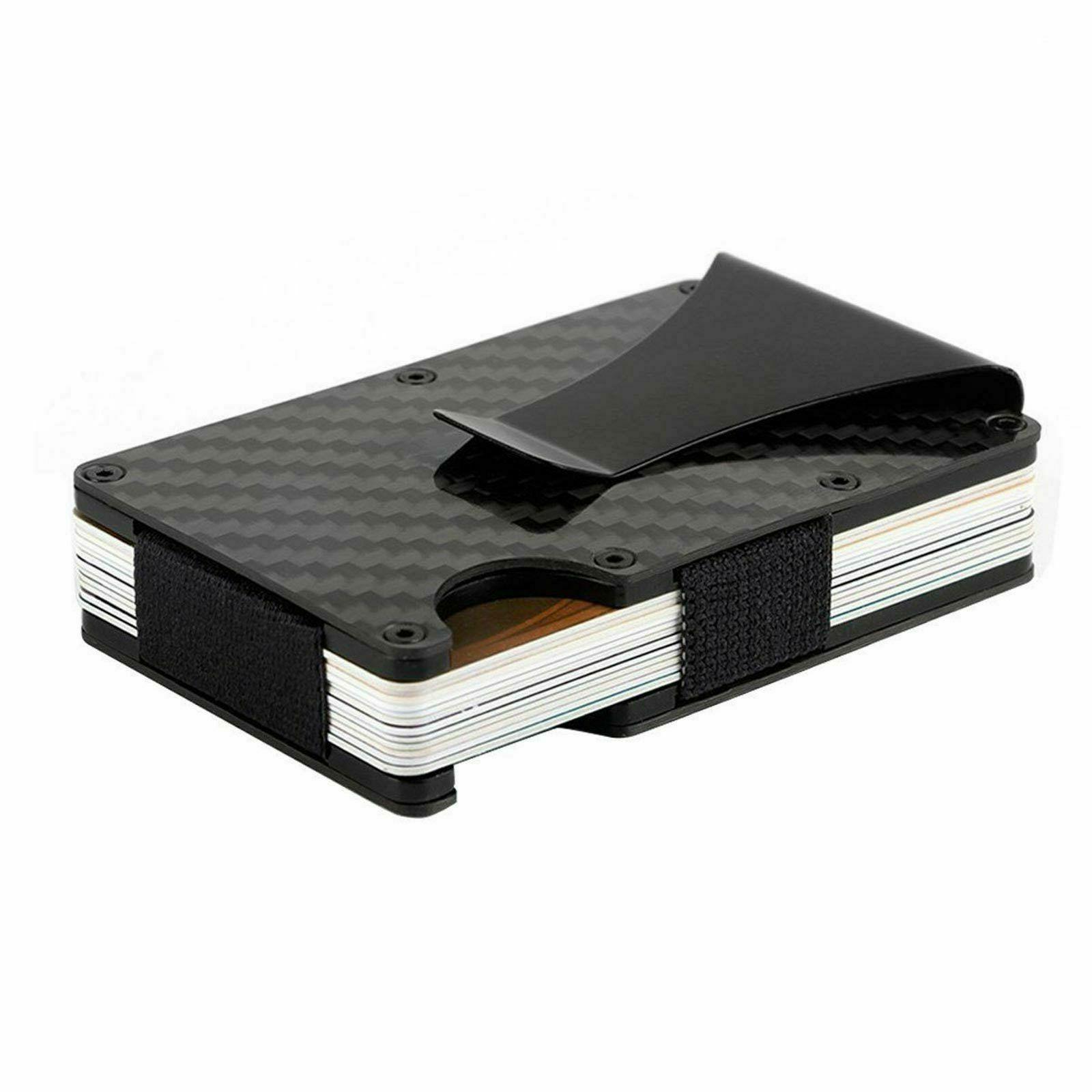 men pocket credit card holder with rfid