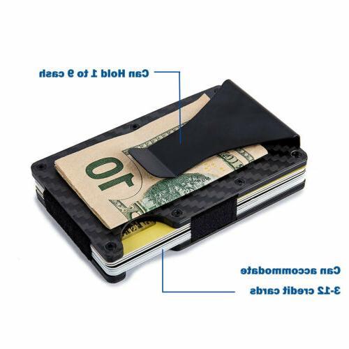 Men RFID Money Wallet Credit Card ID Thin Minimalist