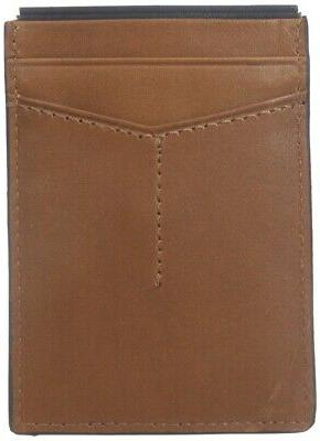 men s brown cardholder max magnet money