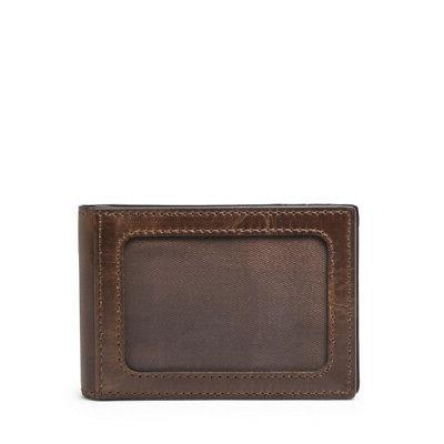 Fossil Men's Derrick Money Clip Wallet