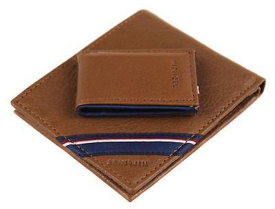 Tommy Hilfiger Men's Double Bi Fold Money Clip Gift Set 41TL24X025