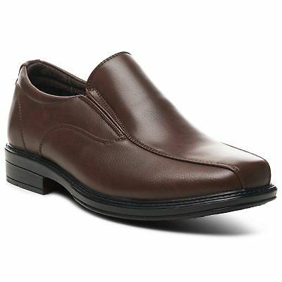 Alpine Swiss Mens Dress Shoes Leather Lined Slip On Loafers
