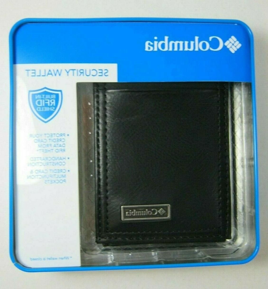 Columbia Front Wallet RFID BLK