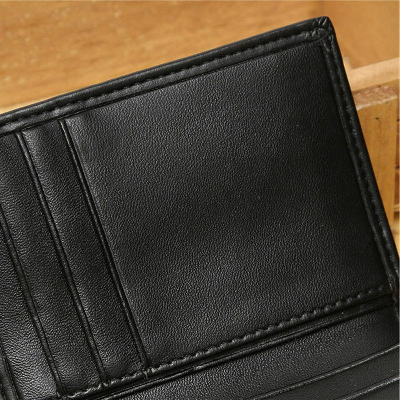 Men's Genuine Wallet Credit Card ID Holder Money Clip Seller