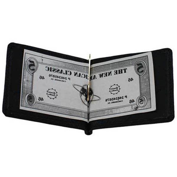 MEN'S GENUINE MONEY BIFOLD WALLET USA