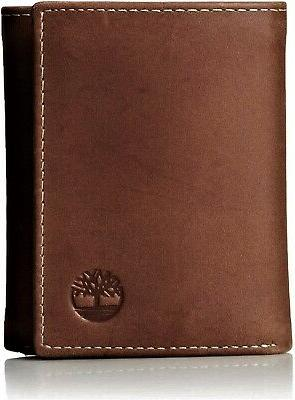 men s hunter trifold wallet