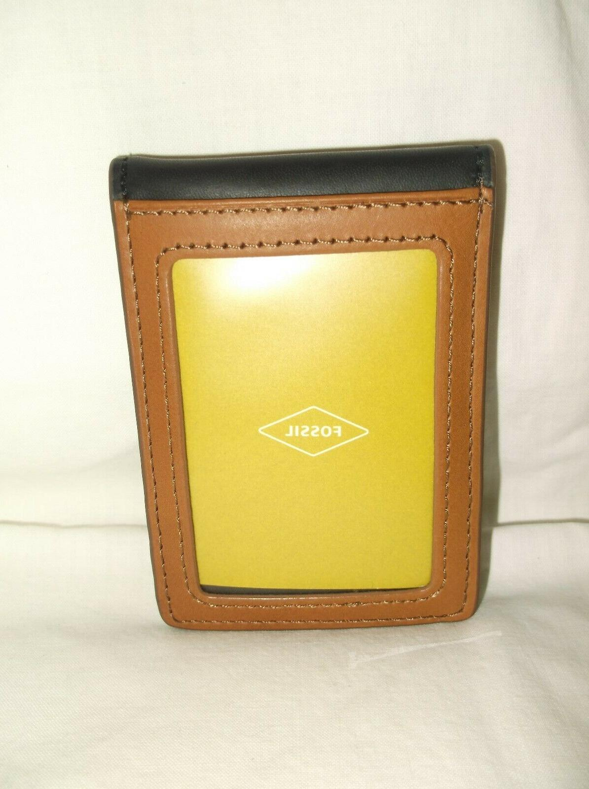 men s ingram rfid money clip bifold