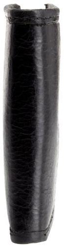 Tommy Men's Leather Passcase Wallet,Bexley Black