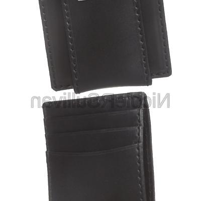 men s leather slim front pocket wallet