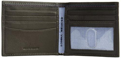 Tommy Hilfiger Wallet - Blocking Slim Thin Removable Holder and Gift Box, One