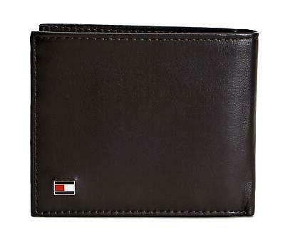 men s leather wallet rfid blocking slim