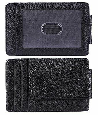 Kinzd Slim Magnet, RFID Cards Holder Blk