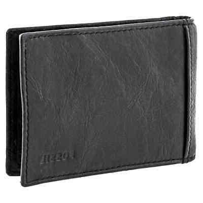 men s money clip bifold wallet neel