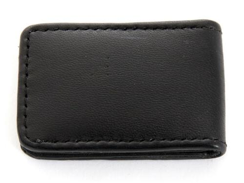 Men's New Genuine Leather Strong Black