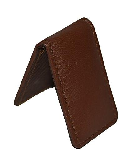 Men's New Leather Strong Magnetic Money