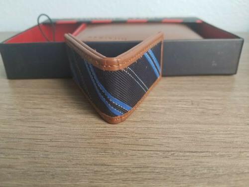 TOMMY Men's Wallet w/Money Genuine