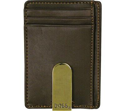 Buxton Men's Regatta Pocket Money Clip Size