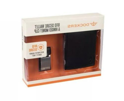 Men's RFID-Blocking Wallet & Clip Gift -