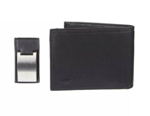 men s rfid blocking wallet and money