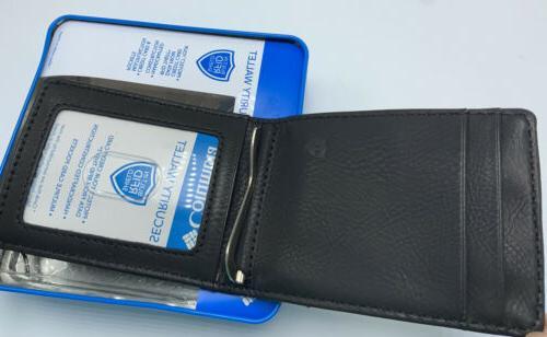 Columbia Men's Security Blocking Slim Pocket Black