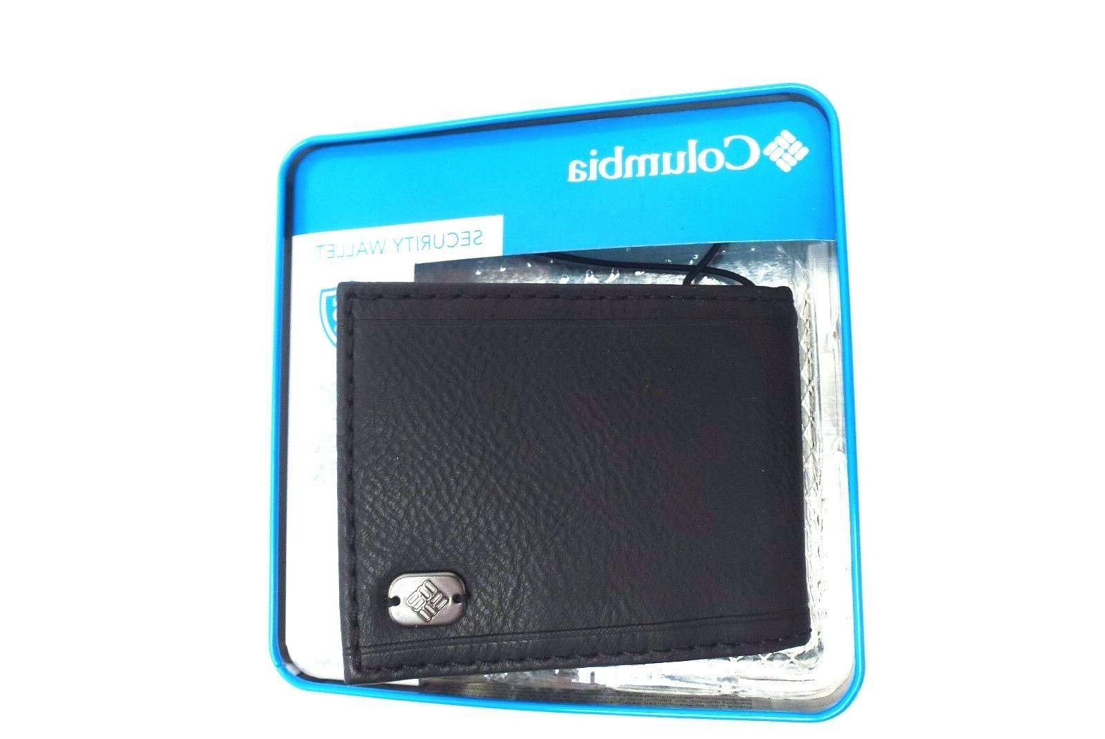 men s security wallet built in rfid