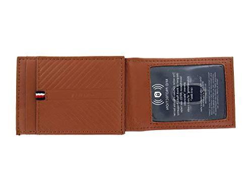 Tommy Hilfiger Men's Tan Leather | Money Clip