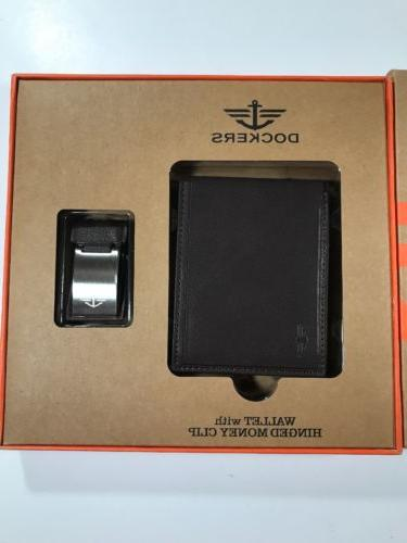 Dockers Trifold Wallet w/ Clip 2 In One Gift
