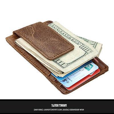 Men's Slim Wallet Card Holder