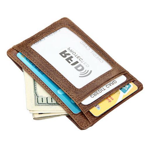 Men's Magnetic Money Slim Wallet