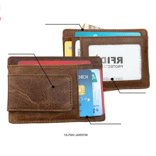 Men's Magnetic Slim Card