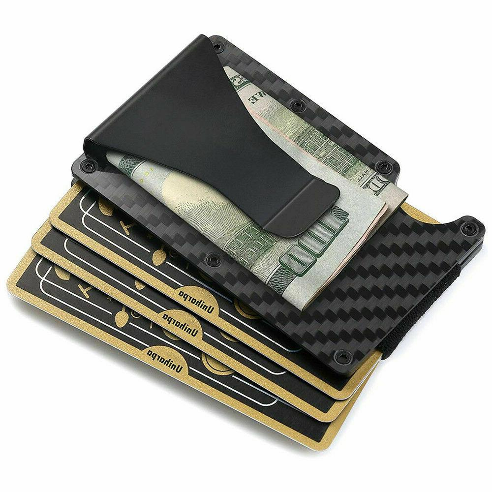 Carbon Slim Money Holder Gift