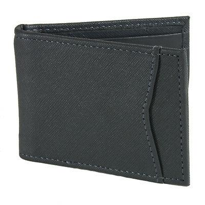 Alpine Bifold Money Clip Leather ID Front Wallet