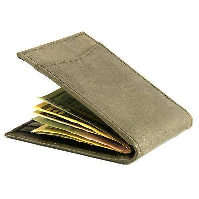 Alpine Swiss Money Clip Leather ID Wallet