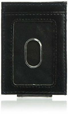 Dockers Mens Card Holder Front Pocket Minimalist Wallet With