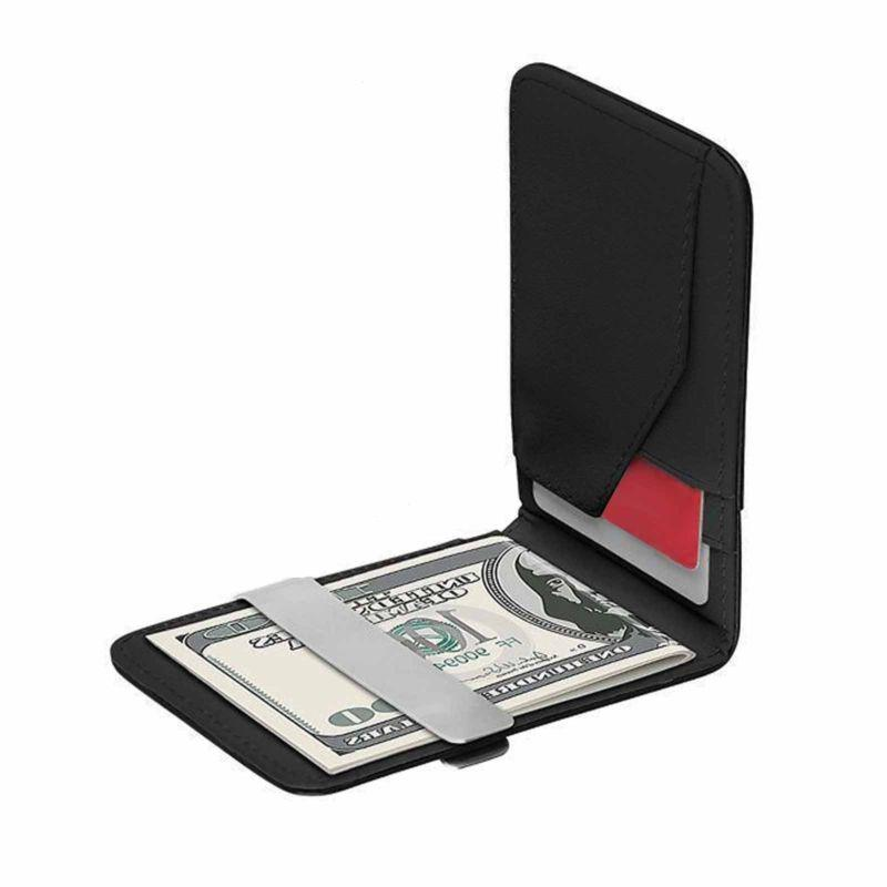 Mens Money Slim Wallets Purse Holder