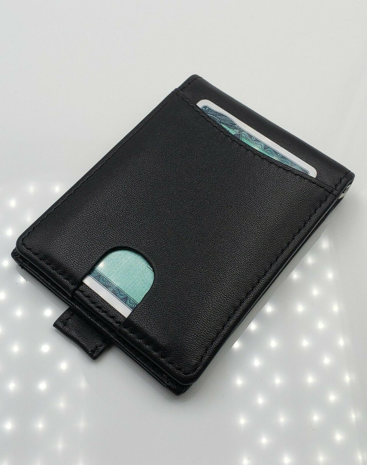 AG Wallets Bifold Wallet, Slim Design, Minimalist Money