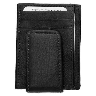 Mens Clip Credit Cards Wallet