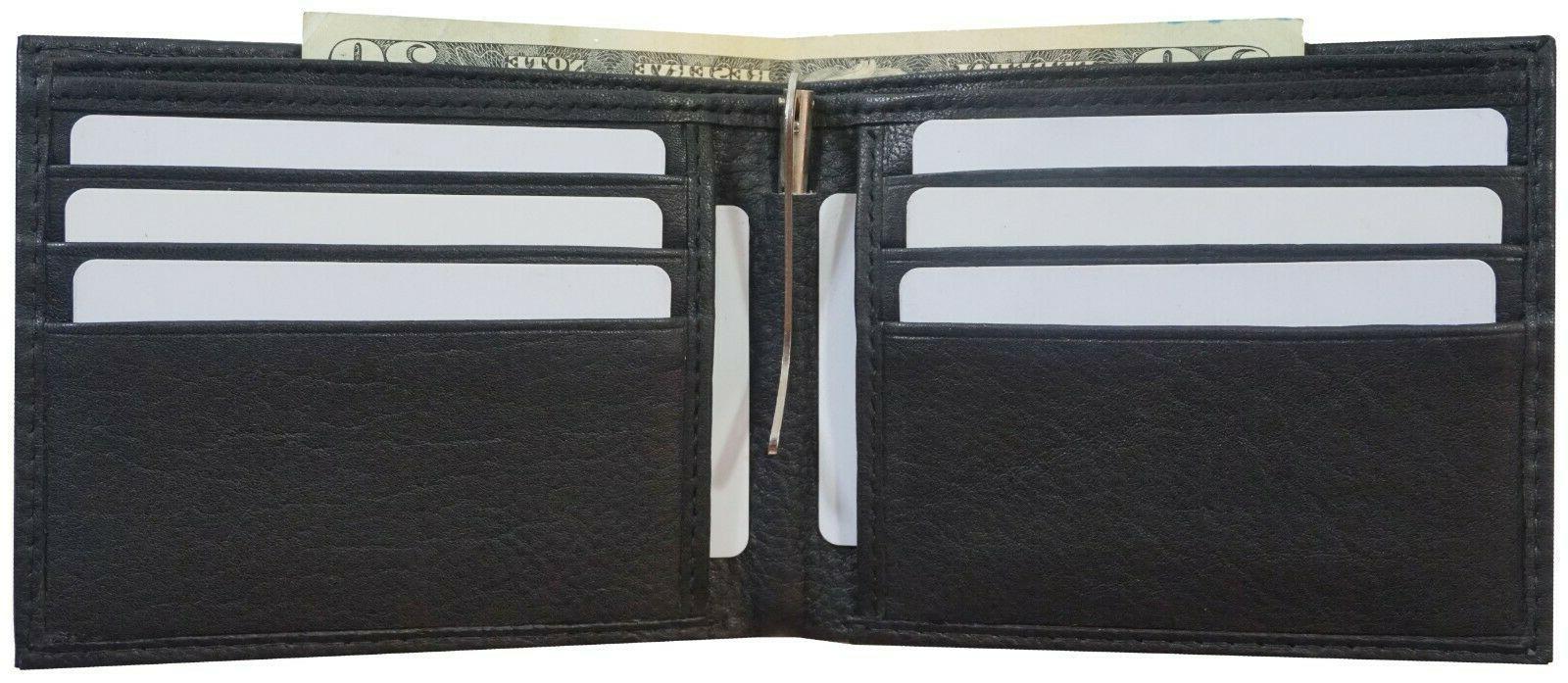 Mens Money Clip Wallet Slim Front