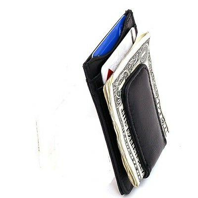 Mens Money Slim Pocket Magnetic Credit Card Holder