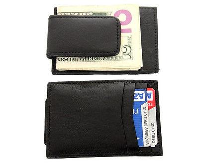 Mens Money Clip 3 Card Holder Wallet