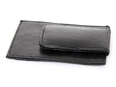 Mens Leather Money Card ID Holder Wallet