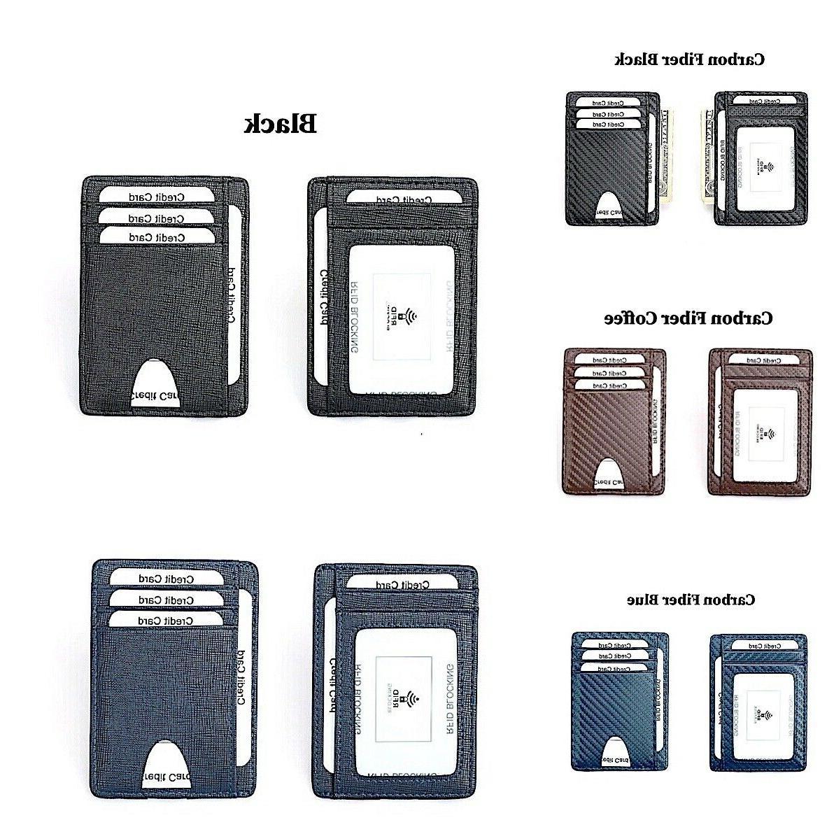 RFID Money Clip ID Credit Card Wallet