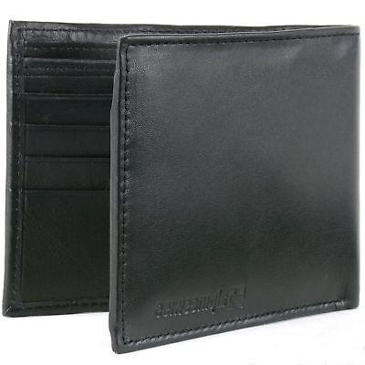 mens leather wallet money clip bifold trifold