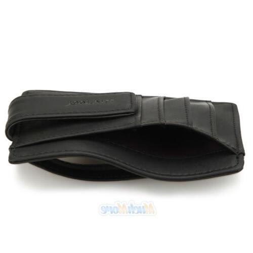 Mens Wallet Clip Card ID Holder Thin Slim