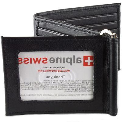 mens leather wallet spring money