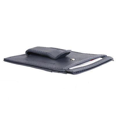Alpine Swiss Clip Wallet Genuine Leather Case