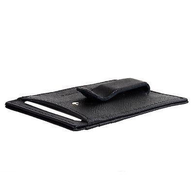 Alpine Mens Clip Thin Wallet Card Case