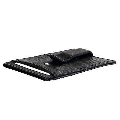 Alpine Money Clip Wallet Genuine Leather Card Case